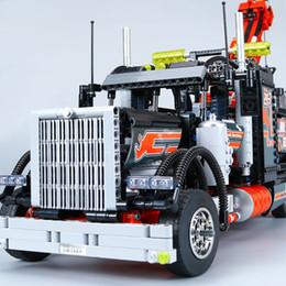 Американские контейнеры онлайн-Американский тяжелый контейнерный грузовик в сборе Mega Blocks toys
