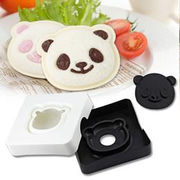 Wholesale Plastic Craft Eyes - DIY Big Eye Panda Shape Sandwich Mold Creative Bread Cake Mould Maker Cutter Craft Kitchen Tools For Mom Helper Hot Sale 5zh Z