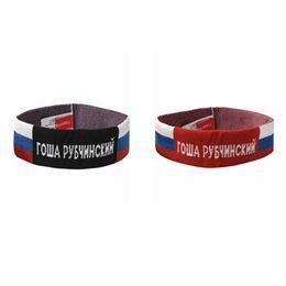 2019 cadono accessori per i capelli neri 3 COLORI Logo fascia rosso rosso grigio nero Gosha Rubchinskiy uomo 16ss.