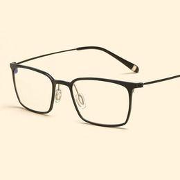 Wholesale Anti Radiation Glasses - Lightweight High Quality Optical Glasses Frame Aluminum Magnesium Blue Light Filter Computer Eyeglasses Anti Radiation Goggles frames