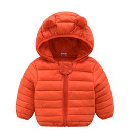 Ropa para niños online-Bebé niños niñas abrigo cálido invierno con capucha ropa linda Ropa para niños ropa de punto para niños abrigos para niñas