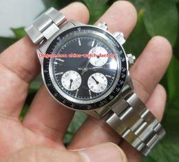 Wholesale Mens Watche - Luxury High Quality Watch BP Factory 40mm Cosmograph 6263 Vintage Chronograph Swiss ETA 7750 Movement Mechanical Hand-winding Mens Watche