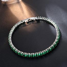 CARSINEL Cadena de Moda de alta calidad Verde Circón Pulseras Brazaletes Para  Mujeres Accesorios de Joyería Al Por Mayor BR0253C barato accesorios de moda  ... 88a03704f85