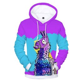 game hoodies 2018 - Fortnite Battle Royale 3D Printed Mens Hoodies and Sweatshirts Plus Size Fornite Game Hip Hop Funny Hooded Jacket Male Tracksuit