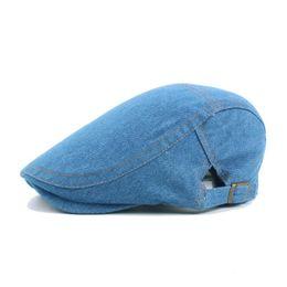 0fb3e126498 Chinese Wholesale Denim Berets Adjustable Sport Cap Snapbacks Caps Autumn  Casquette Baseball Cap Designer Hats Dad