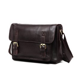 59ea9280bee8 Yamyannie Men s Office Vintage Style Leather Briefcase 14