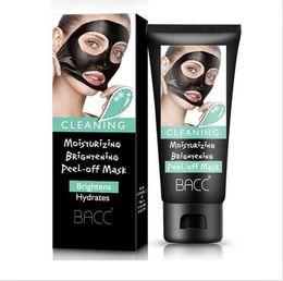 Wholesale Bamboo Charcoal Mask - BACC Blackhead Removal Bamboo charcoal Black Mask Deep Cleansing Peel Off Mask Pores Shrinking Acne Treatment Oil-control