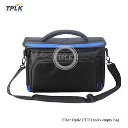 outils ftth Promotion 2018 le sac le plus vendu pour le FTTH à fibres optiques et le sac vide pour le sac à outils de fusion Fusion, kit vide capable de loger du matériel