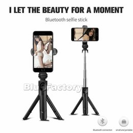 selfie monopods iphone Coupons - Foldable Mini Bluetooth Selfie Stick Tripod Selfie Monopods Handheld Extendable Mini travelling photo camera For iphone Samsung Smartphone