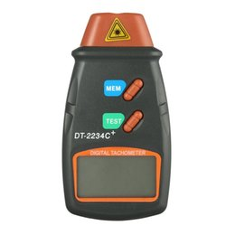 Wholesale Digital Rpm - Diagnostic-tool Digital Laser Tachometer RPM Meter Non-CDiagnostic-tool Digital ontact Motor Lathe Speed Gauge Revolution Spin Drop Shipping