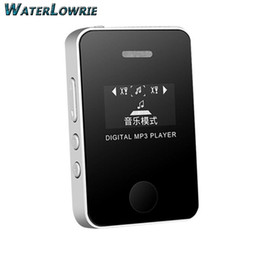 Wholesale Music Mp - Waterlowrie LCD Screen MP3 Mini USB MP3 Music Media Player Support 16GB Micro SD TF Card Built-in speaker Sport MP 3
