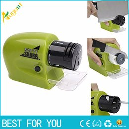 Wholesale New Electric Knife - New hot Electric Knife Sharpener Swifty Sharp Multifunctional Cordless Motorized Knife Blade Motorized Knife Sharpener(341)