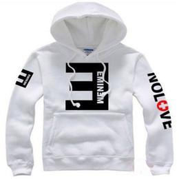 Sudaderas con capucha de lana de los hombres Eminem impresa primavera gruesa sudadera con capucha Hombres mujeres Ropa deportiva 2018 Nueva ropa de moda de invierno desde fabricantes