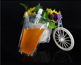 envase de la bolsa del canalón Rebajas Nueva bolsa de plástico para bebida Stand-up 250ml Bolsa de bocadillo para jugo de leche Café Bebida líquida Bolsa de embalaje Bolsa de bebida