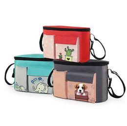 carrinhos de bebê da forma Desconto Saco de carrinho para a mãe multifuncional grande fralda sacos de moda maternidade bebê saco de fraldas do ombro saco CCA9666 10 pcs
