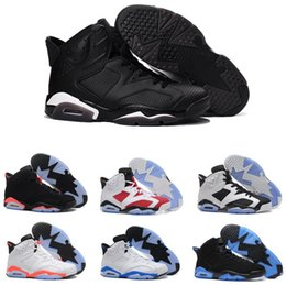 Wholesale infrared hunting - High Quality Basketball Shoes 6 Black Infrared Gatorade Carmine University Blue Alternate Black Cat Men's Women Sneakers 6s Sports Shoes
