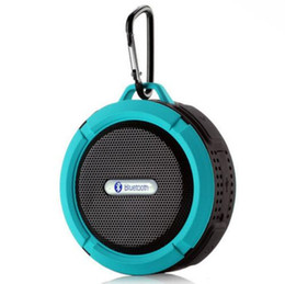 Wholesale Universal Usb Battery - 2018 Waterproof Bluetooth Speaker Shower Speaker C6 with Strong Driver Long Battery Life and Mic and Removable Suction Cup in Retail Package