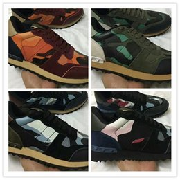 e31bf765c3e Name Brand Hot Selling Designer Camouflage Superstar Shoe Man Casual Woman  Sneaker High Quality Mixed Color Rivets Unisex Cheap xg88968602
