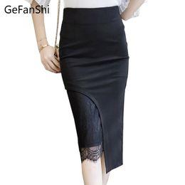 Business Skirt Length 2019 High Quality S 5xl Women Office Business Skirts Fashion Slim