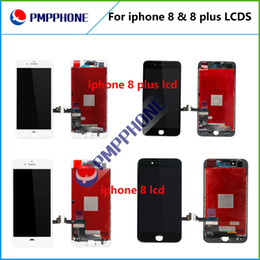 Wholesale Best Digitizer - Best AAA quality iPhone 8 iphone 8 Plus LCD Display Touch Digitizer Complete Screen with Frame Full Assembly Replacement free shipping