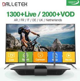 Q1504 французский арабский коробка IPTV Android с QHDTV IPTV в Арабских Франция Бельгия Нидерланды IPTV от подписки VIP Спорт LIVE Видео вод от