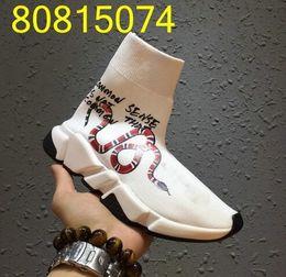 Deutschland Name Marke Hohe Qualität Unisex Casual Flache Schuhe Mode schlange Socken Stiefel Slip-on Elastische Tuch Geschwindigkeit Trainer Runner Mann Schuhe Im Freien cheap snake names Versorgung