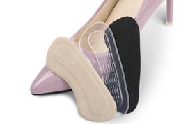 Silikon yüksek topuk çıkartmalar görünmez topuk pedleri genişletme ayak sonrası çıkartmalar kadın deri ayakkabı sandalet burnu taşlama ayak pedleri cheap feet high heel sandals nereden ayaklar yüksek topuklu sandaletler tedarikçiler