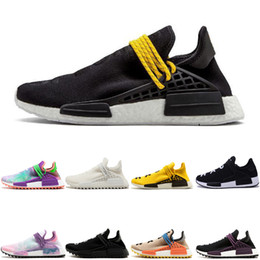 free x art Promo Codes - Running shoes for Men & Women's solar Cheap Wholesale HUMAN RACE Pharrell Williams x Discount trainer mens Sport designer shoes free ship