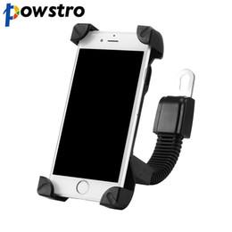 Porta-moedas on-line-Venda Por Atacado suporte do telefone da motocicleta ajustável 360 graus gire motorcyle / scooter / elétrica de 4.8 a 7.6 polegadas de telefone celular / mp4