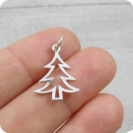 5pcs semplice albero di natale collana piccolo albero di pino collana vita famiglia ghianda albero di quercia foglia collane isola carino pianta regali da