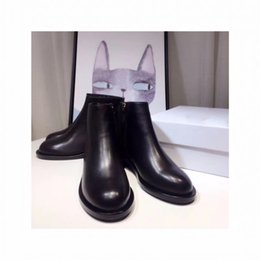 Wholesale low price ankle boots - 80392017 autumn and winter new products, more color, real leather, fashion, high quality, high quality, low price, 35-40