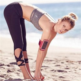 Wholesale Fitness Ballet - Women Ballerina Yoga Pants Sport Leggings Fitness Cross Yoga High Waist Ballet Dance Tight Bandage Yoga Cropped Pants YWYS2004