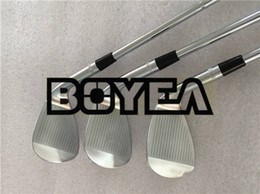 Wholesale golf clubs left hand - BOYEA Left Hand Golf Clubs SM7 Wedge SM7 Golf Wedges Silver 50 52 54 56 58 60 Steel Shaft With Head Cover