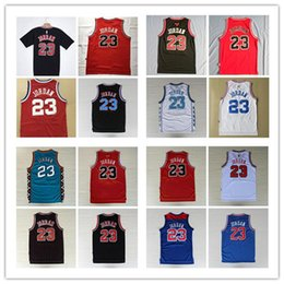 Wholesale cheap browning shirts - New arrival Shirts Mens Mesh #23 Retro version Basketball Jerseys Cheap All Star Breathable Sports Jersey#23 Michael 1997-98 Top Quality