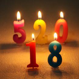 anzahl kuchen cupcakes Rabatt Geburtstag Anzahl Kerze Kuchen Cupcake Topper Party Geburtstag Kuchen Kerze Party Dekoration Versorgung