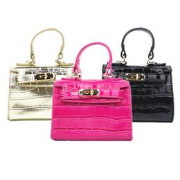 c2c7675e9e8 Fashion Kids Handbag Alligator Grain Girls Mini Bag Stylish Baby Tote Bags  Children s Messenger Bags PU Leather Wholesale Designer Handbags