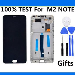 Canada Écran tactile Digitizer + LCD Display Screen Replacemen Pour Meizu M2 Note 5.5 pouces assemblée de téléphone portable pour Meizu M571 Avec Cadre cheap meizu m2 note touch screen Offre