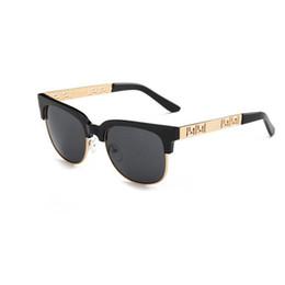 Wholesale lentes sol mujer - vintage mirror sunglasses oversized womens square sunglasses mens sun glasses brand designer lentes de sol mujer Black brown lens 2018