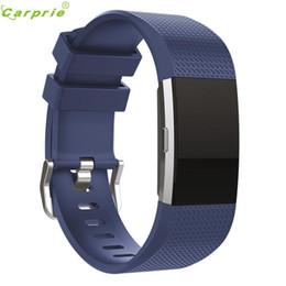 Горячие продажи CARPRIE Smart Watch часы Smart Bands замена мужские часы Спорт силиконовый браслет ремешок группа для Fitbit заряда 2 от