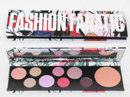 Wholesale Makeup Basics - Free Shipping NEW makeup palettes Girls Collection Basic Bitch Power Hungry rockin rebel 9 color eyeshadow palette