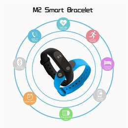 Wholesale Bracelet Box Pink - Smart Bracelet Heart Rate Monitor bluetooth Smart Wristband Health Fitness Tracker Smart Band Wristband for Android iOS With Retail Box