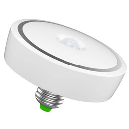 Wholesale Pir E27 - E27 12W 24 LED PIR Motion Sensor Bulb, Warm White