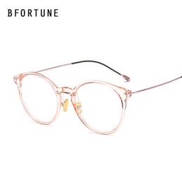 BFORTUNE nuevo de la manera gafas redondas hombres de las mujeres marca de diseño del marco Piloto vidrio de Sun clara Eyewear Femenino Masculino desde fabricantes