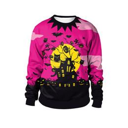 Trajes de Halloween Cosplay Moda New Colorido Roupas O Pescoço Com Capuz Vestido Up Traje Do Partido Camisolas M-2XL de