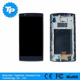 Оптовая мобильный ЖК-дисплей для lg g4 lcd, для lg G4 ЖК-экран, для lg G4 ЖК-дисплей с сенсорным дигитайзер ассамблеи черный от