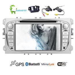 Auto gps-systeme online-Eincar Android6.0 Auto-DVD-Player Fahrzeuge in Dash für Focus GPS-Navigation Stereoanlage Quad-Core 16G ROM Autoradio Stereo Wifi Spiegel