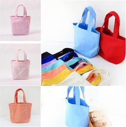 2019 сумки для обеда 2018 новый стиль удобный сплошной colorplain коробка обеда переработанные многоразовые сумки косметическая сумка для хранения сумки T5I051 дешево сумки для обеда
