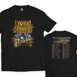 10a41e48 China LYNYRD SKYNYRD Farewell Tour 2018 Rock Band T shirt S to 5XL Mens 2018  fashion