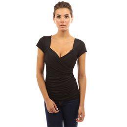 T-shirt à manches courtes Sexy Euro-American à manches courtes pour femmes ? partir de fabricateur