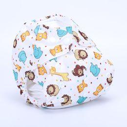 Wholesale swimming wear for girls - Baby Swimwear Swim Diaper Wear for Baby Reusable Toddler Swimsuit Adjustable Infant Boy Girl Swimwear Boy Girl Swim Diapers